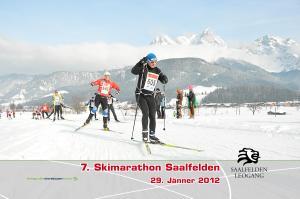 Skimarathon Saalfelden 2012