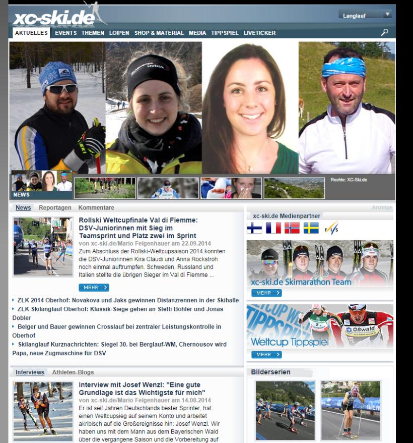 xc-ski.de-Langlauf Team