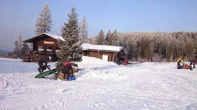 Die skiclubhütte vom WSV Bodenmais