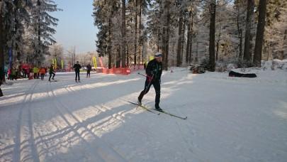 ski testen vorm Start