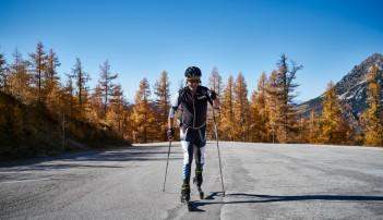 Skiroller Bergauf   © Marco Felgenhauer
