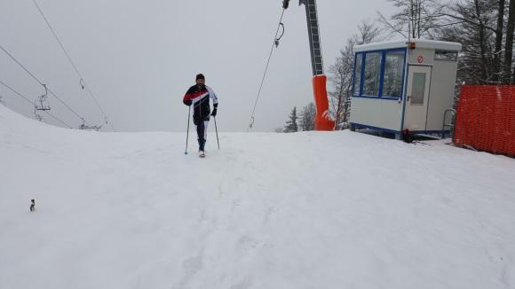 Schnee am Götschen