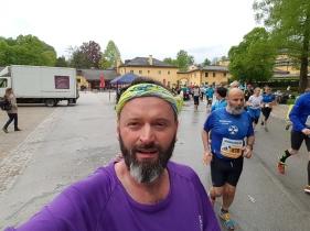 Marathon Selfi in Hellbrunn