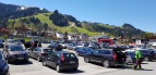 Ende April, 13:00 Parkplatz Hahnenkamm, alles Skifahrer!