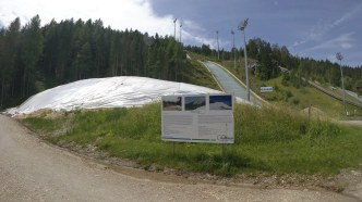 Schnee Depot Ramsau