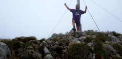 MountainMan am Steinplatten Gipfel
