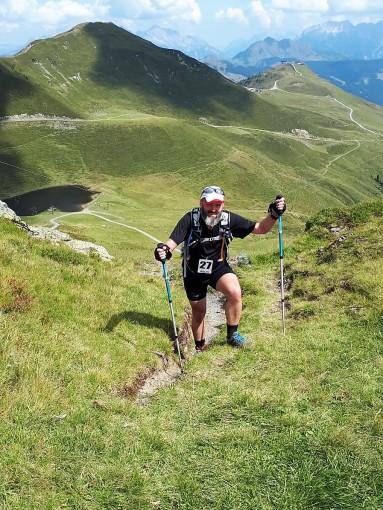 Nach gut 5 Stunden am Saalbacher Höhenweg